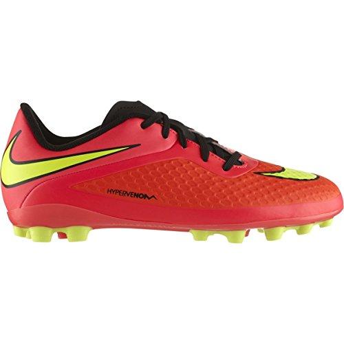 Nike JR Hypervenom Phelon AG Stivali Negro