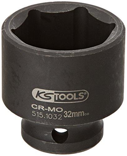 """KS Tools 515.1032 Douille à choc 6 pans 1/2"""" 32 mm"""