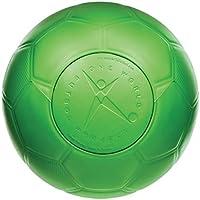Besonders Fußball für Kinder und Erwachsene–Never Goes flach, muss nie eine Pumpe. Größe 5und Gr. 4. Perfekt für Spielplätze, Fußball Praxis, Pick-Up Spiele, grün