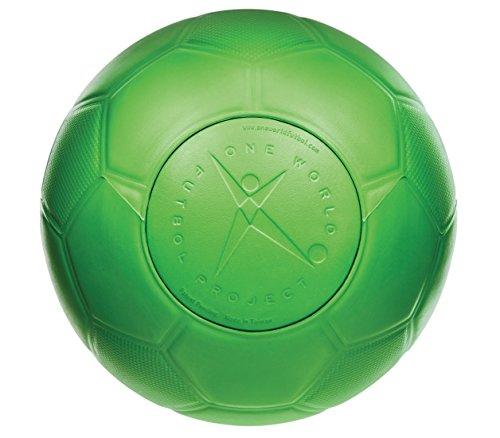 One World Play Project Palla Futbol da Calcio indistruttibile Non Si buca sgonfia No tossica