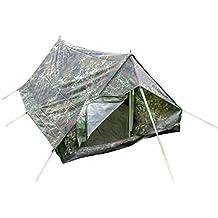 Diseño de camuflaje Minipack Camping Festival al aire libre nailon 2Hombre tienda de campaña