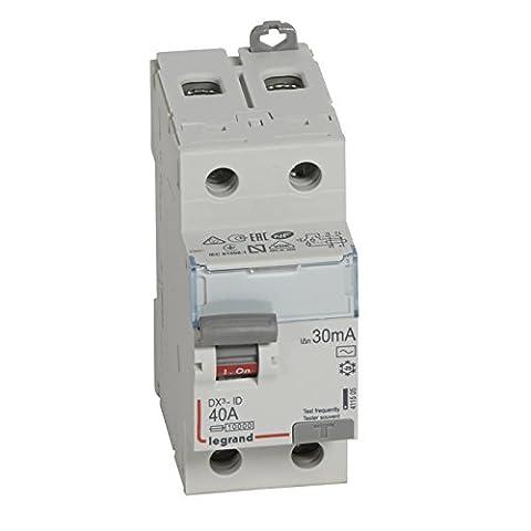 Legrand LEG411505 Interrupteur différentiel dx-id Vis/Vis 2P 230 V 40