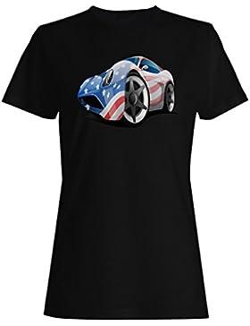 Nuevo Día Americano De La Independencia camiseta de las mujeres i170f