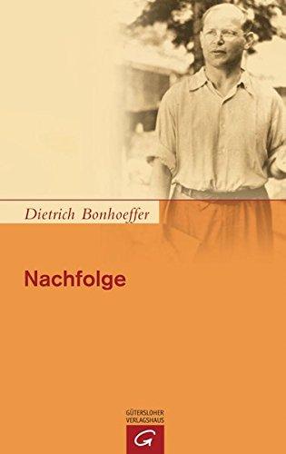 Preisvergleich Produktbild Nachfolge: Kart. Ausgabe der Dietrich Bonhoeffer Werke, Band 4