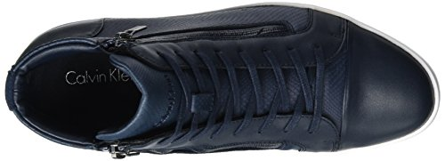Calvin Klein Berke Embossed Lea Calf Smooth, Sneakers basses homme Blau (Dny)