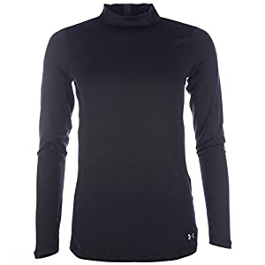 Under Armour Damen Fitness Sweatshirt Ua ColdGear Armour Mock