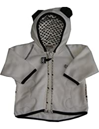 CelaVi-Pippi Baby-Jacke Bär Fleece mit Kapuze