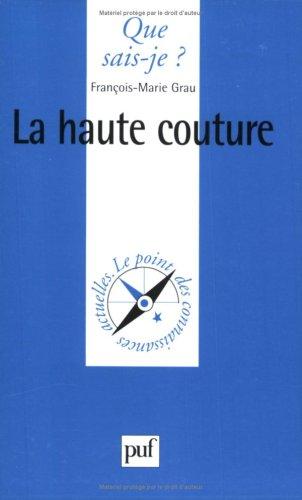 La Haute couture