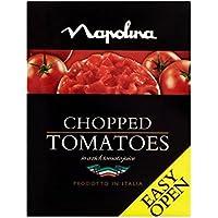 Napolina Tomates Picados Cartón 390G - (Paquete de 4)