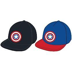 MARVEL Gorra Capitan America Los vengadores Hip Hop surtida