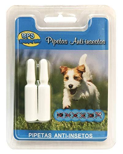 BPS Pipetas Repelentes para Perros Gatos Mascotas Antiparasitos Material Naturales (para Perro) BPS-4002