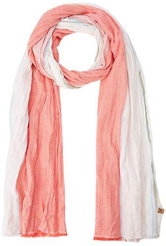 Camel Active Womenswear Damen 307480 Schal, per pack Mehrfarbig (hibiscus 54), One Size (Herstellergröße: OS)