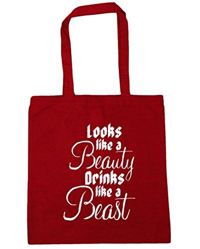 hippowarehouse-looks-like-a-beauty-drinks-like-a-beast-tote-shopping-gym-beach-bag-42cm-x38cm-10-lit