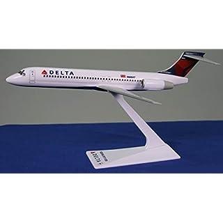 Delta (07-Cur) 717-200 Airplane Miniature Model Snap Fit Kit 1:200 Part#ABO-71720H-008
