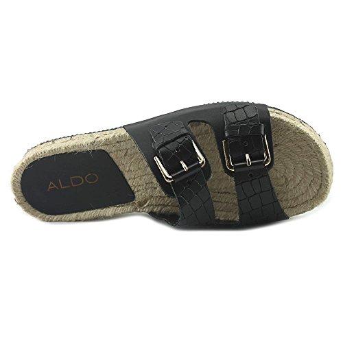 Aldo Dolci Leder Sandale Black