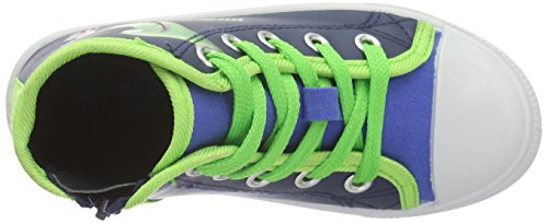 Arlo & Spot Boys Kids High Sneakers, Baskets Basses Garçon Bleu - Blau (Cbl/Hfrn/Lnv 089)