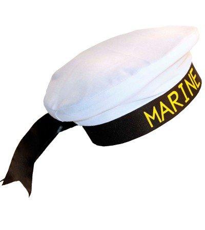 Marine-Matrosenmütze (Klassisches Kostüm Seemann)