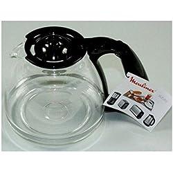 Moulinex FH900401 Verseuse Noir 15 Tasses, Acier Inoxydable, 200 x 200 x 160 mm