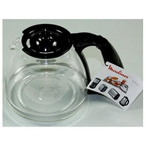 Moulinex FH900401 - Jarra de 15 Tazas, Acero Inoxidable, 200 x 200 x 160 mm, Color Negro