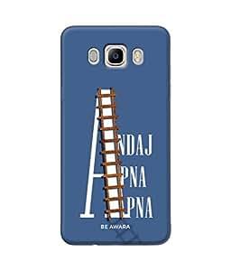 Be Awara Andaj Apna Apna Designer Mobile Phone Case Back Cover For Samsung Galaxy On8