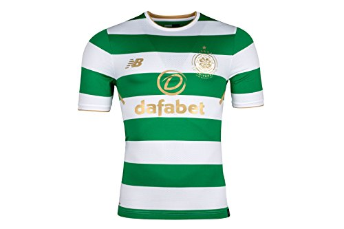 Celtic-FC-1718-Home-Elite-SS-Football-Shirt-WhiteGreen-size-M