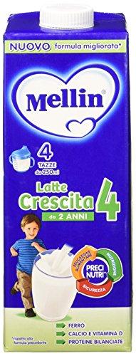 Mellin 4 Crescita Latte Liquido Lt.1