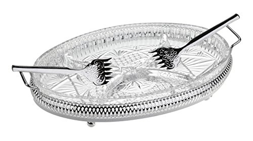 4 Division Hors d'Oeuvre - Silver Plated by Queen Anne Queen Anne Silver Plated