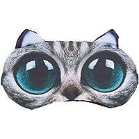 Healifty 3D große Augen Cat Sleeping Augenbinde Kühlung Eyeshade für Reisen nach Hause preisvergleich bei billige-tabletten.eu