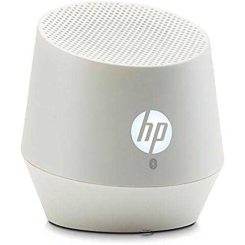 HP S6000 Mini - Altavoz portátil con Bluetooth, blanco