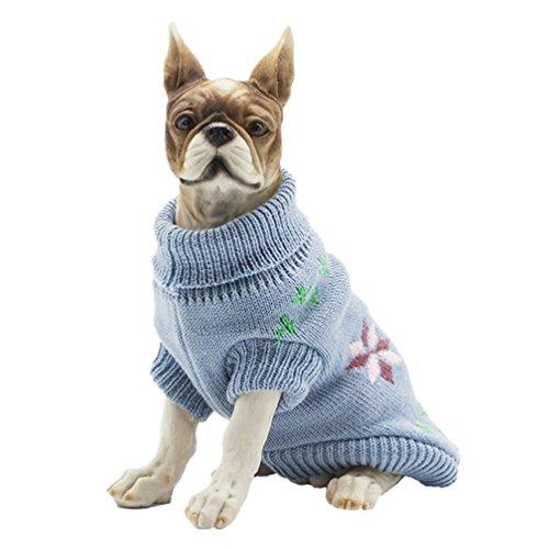 YiJee Kleine Hundchen Atmungsaktiv Gestrickte Pullover Haustier Hund -