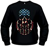Sons Of Anarchy Skull Logo Sweat Pull Taille M–Moteur Cycle Club Redwood original Sweater samcro