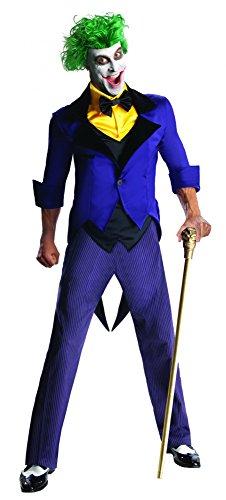 (Batman The Joker Kostüm Herrenkostüm Halloween The Dark Knigth Horror Gr L - XL, Größe:L)