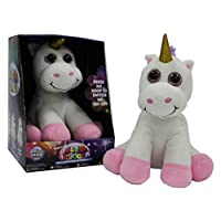 Miri Moo Super Soft Glow Unicorn Teddy Multi Colour Changing Nightlight Led