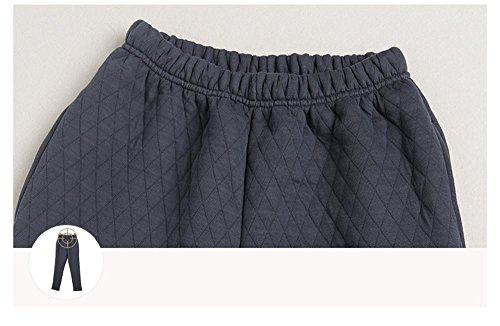Lingerie de nuit féminine dernières manches longues coton pyjama sortie hiver Orange