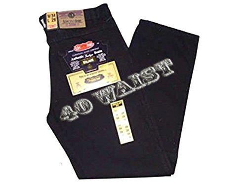 """Herren-Jeans, schwarz, Größe 30,32,34,36,38,40,42,44,46,48,50,52–60, Waist 27, Leg Size 31"""" Regular Waist 40"""