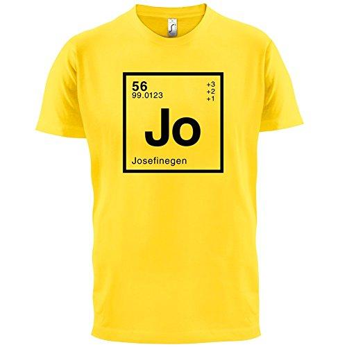 Josefine Periodensystem - Herren T-Shirt - 13 Farben Gelb