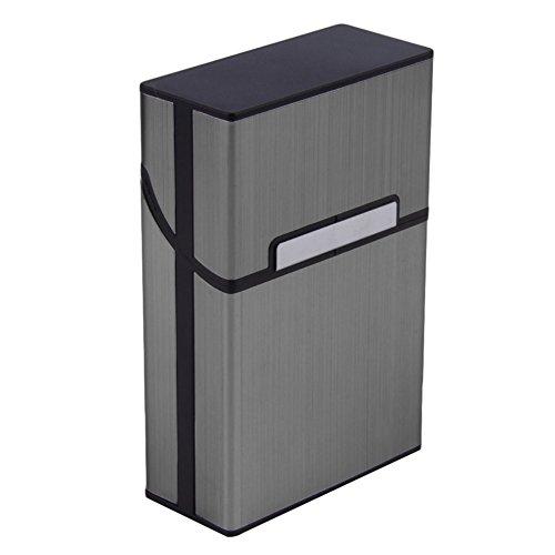 Blue Vesse Leichte Aluminium-Zigaretten-Zigarre-Kasten-Taschen-Kasten-Behälter-Speicher-Halter (Grey) ...