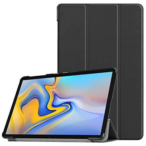 KATUMO Hülle Kompatibel mit Samsung Galaxy Tab A 10.5'' - Ultra Slim Leder Tasche Hülle Skin für Samsung Galaxy Tab A (2018) SM-T590N/T595N (10,5 Zoll) Schutzhülle Smart Case Cover mit Standfunktion Galaxy Skin