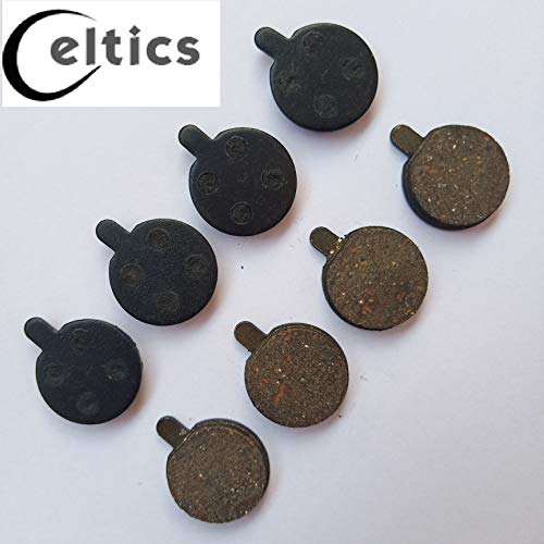 celtics 4paia bicicletta pastiglie freno a disco per zoom DB350DB280DB450DB550semi-metallic res
