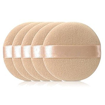 SODIAL(R) 5PCS Facial Beauty Sponge Powder Puff Pads Face Foundation Makeup Tool from SODIAL(R)