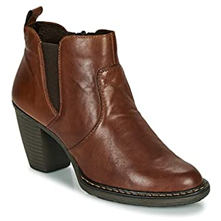 Rieker 55284-26 Ankle Boots/Boots Women Brown Ankle Boots 4
