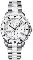 Certina Damen-Armbanduhr XS Chronograph Quarz Edelstahl C014.217.11.011.01