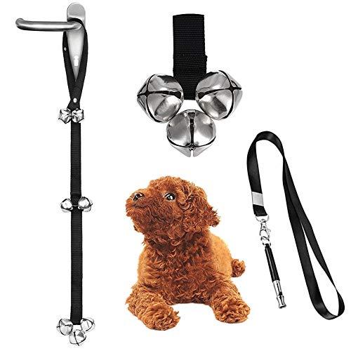 Perro puerta campana Pet Timbre ajustable entrenamiento