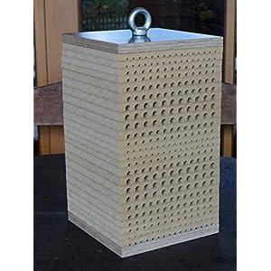 Wildbienenkinderstube XL WETTERFEST - Nisthilfe für Wildbienen