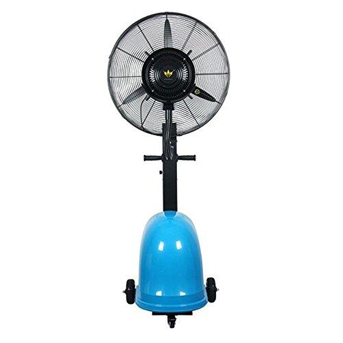 Turmventilator Kühlen 26 Zoll Portable Misting Fan Oszillierende: 90 ° 260W mit 3 Geschwindigkeiten, Schwingung Funktion Ventilatoren (Farbe : Aktualisierung Blue) (Beste Outdoor Nebel Maschine)
