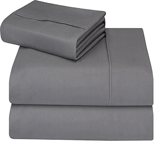 Utopia Bedding 3-Piece Bed Sheet...