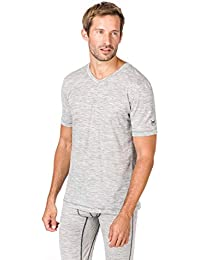 05930ef9b727a Super. Natural T-Shirt M Base col en V Thé 140 Fonctionnel pour Homme