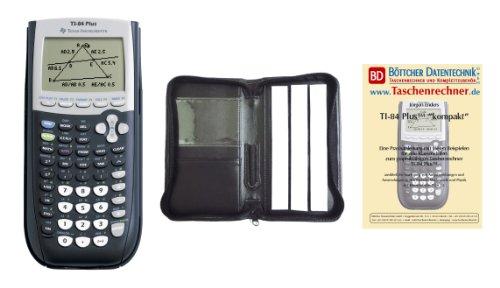 Texas Instruments TI 84 Plus + Schutztasche + Fachbuch (Plus Texas Instruments Ti83)