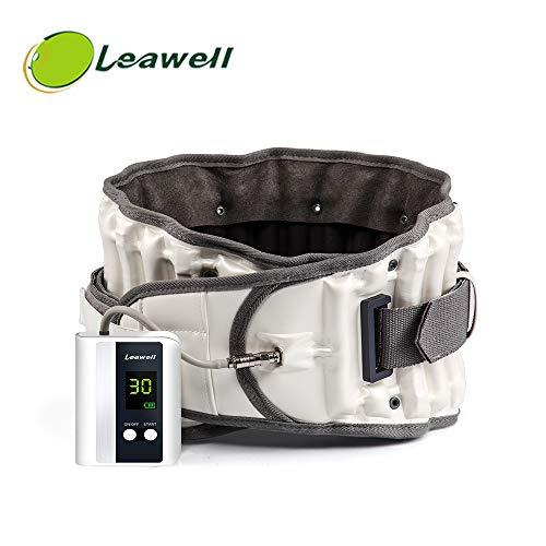 Dekompressions-Rückengurt Verbessern Sie die Ausrichtung der Wirbelsäule Verringern Sie Rückenschmerzen Lendenwirksames Zuggerät mit automatischer Pumpe, um CE (25 \'\' ~ 55 \'\') leicht aufzublasen