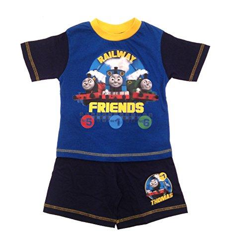 pyjama-officiel-thomas-et-ses-amis-haut-et-short-garcon-railway-friends-18-24-mois